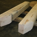 Custom Wooden Barge Bumpers
