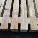 A Hardwood Mat With Spacers