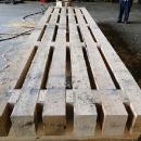Hardwood Crane Mat For Construction Use