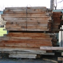 Stacked Dunnage For Worksite Use