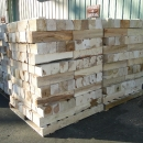 Pile Of Blocking Wood Cut By Riephoff Sawmill