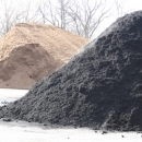Triple Ground Black Dyed Mulch