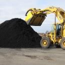 Preparing To Load Black Dyed Mulch