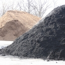 Triple Ground Black Dyed Mulch