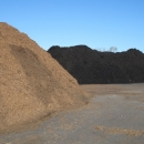 Triple Ground Natural And Black Dyed Mulch