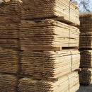 Stakes are cut from Premium Mixed Hardwoods