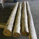 Log Cabin Porch Posts