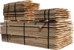 A Pile Of Hardwood Stakes