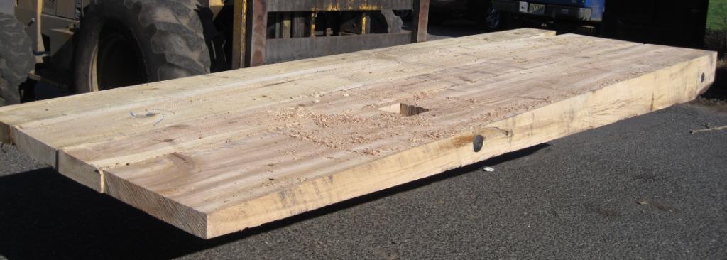 Crane mats hardwood riephoff sawmill